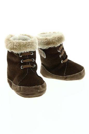 gaspard et zoe chaussures enfant de couleur marron
