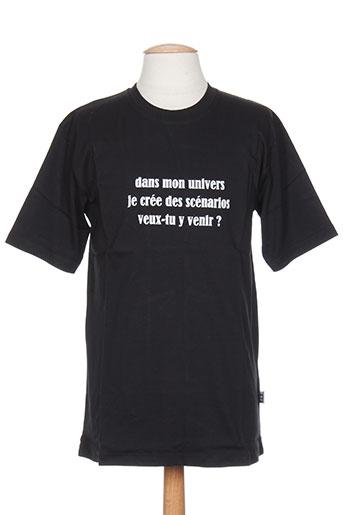 ideo t-shirts / tops homme de couleur noir