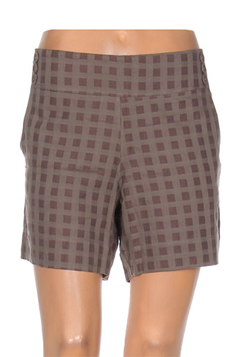 ethos shorts / bermudas femme de couleur marron