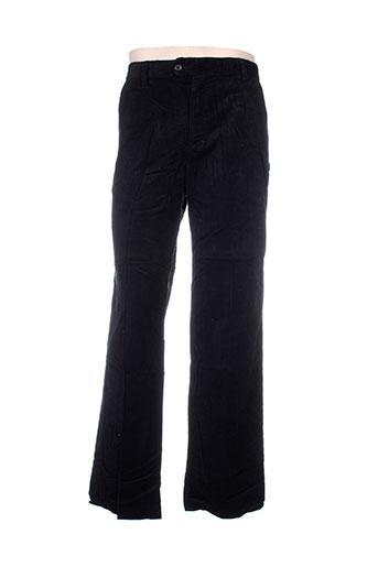 ideo pantalons homme de couleur noir