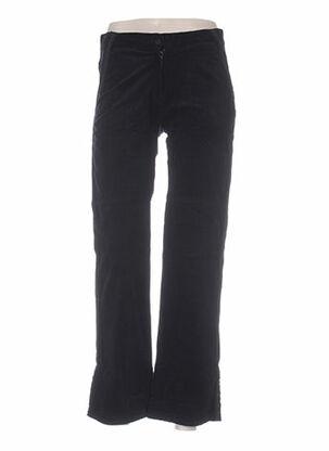 Pantalon casual noir IDEO pour femme