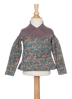 Top marron IDEO pour fille