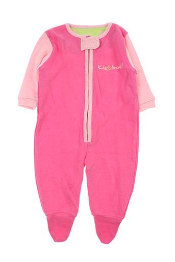 kik EFFI_CHAR_1 boo t-shirts enfant de couleur rose