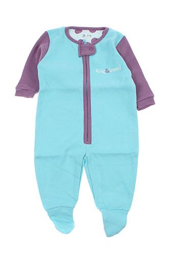 kik EFFI_CHAR_1 boo t-shirts enfant de couleur bleu