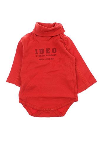 Body rouge IDEO pour enfant