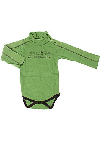 ideo t-shirts garçon de couleur vert