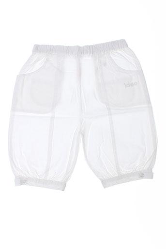 Pantalon casual blanc IDEO pour fille