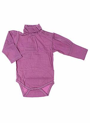 Body violet IDEO pour fille