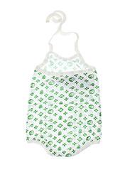 Body vert IDEO pour fille seconde vue