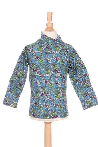 T-shirt manches longues bleu IDEO pour fille
