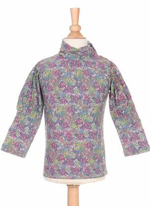T-shirt manches longues rose IDEO pour fille