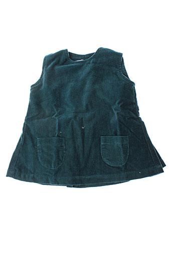 Robe mi-longue bleu IDEO pour fille
