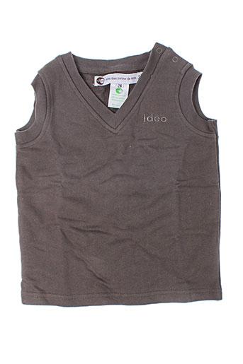 Sweat-shirt gris IDEO pour enfant
