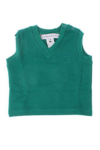 Sweat-shirt vert IDEO pour enfant