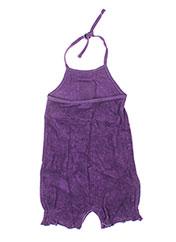 Combishort violet IDEO pour fille seconde vue