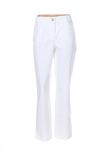 lebek jeans femme de couleur blanc