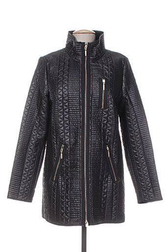 concept k manteaux femme de couleur noir