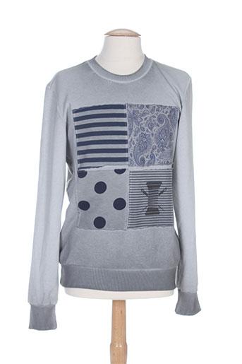 r.a.w. recycled art world t-shirts homme de couleur gris