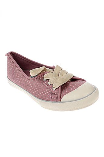 white stuff chaussures femme de couleur rose