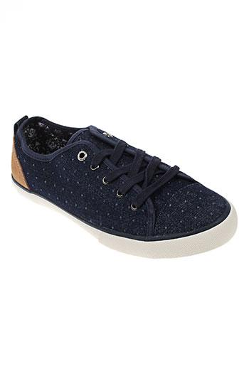 white stuff chaussures femme de couleur bleu