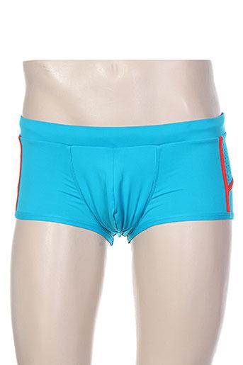 Short bleu CODE 22 pour homme