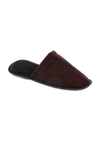 christian cane chaussures homme de couleur marron