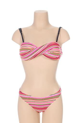lagon bleu maillots de bain femme de couleur rose