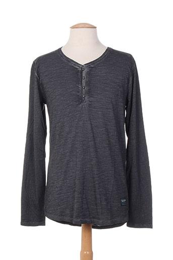 teddy smith t-shirts / tops homme de couleur gris