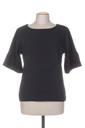 wmn chemises femme de couleur noir