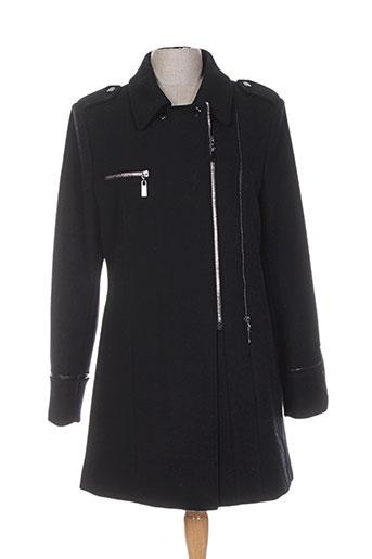 junge manteaux femme de couleur noir