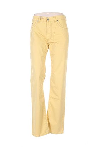 couturist pantalons homme de couleur jaune