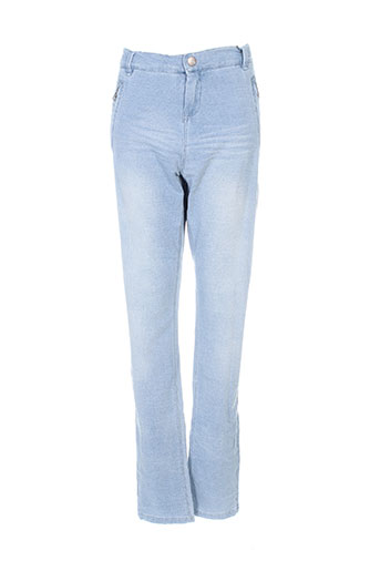 name it jeans fille de couleur bleu