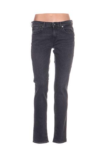 gsus jeans femme de couleur noir