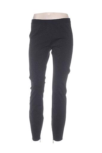 8pm pantalons femme de couleur noir
