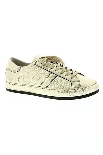 date chaussures femme de couleur jaune