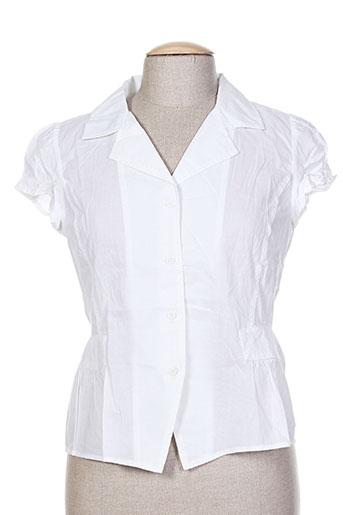 garuda garuzo chemises femme de couleur blanc