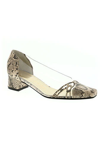 azuree chaussures femme de couleur beige