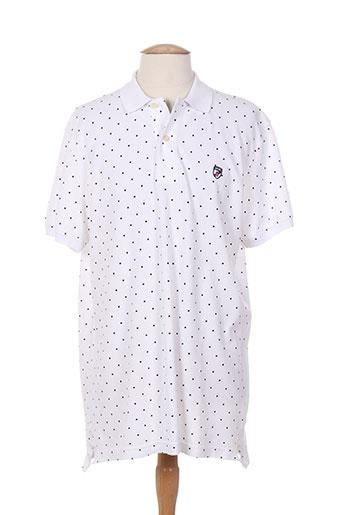 jezequel t-shirts homme de couleur blanc