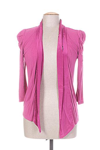 ddp vestes femme de couleur violet