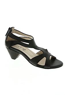 Sandales/Nu pieds noir CORINE pour femme