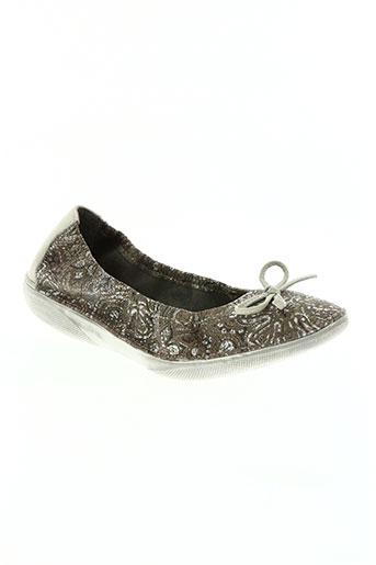 libre comme l'air chaussures femme de couleur gris
