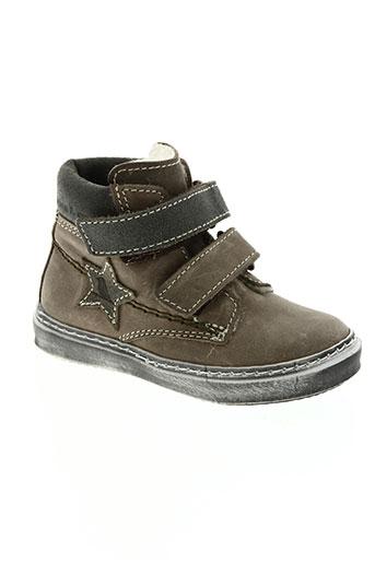 bana & co chaussures garçon de couleur marron