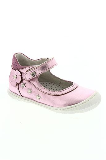 bana & co chaussures fille de couleur rose