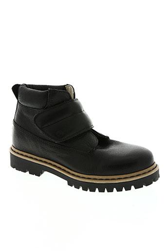 petit bateau chaussures garçon de couleur noir