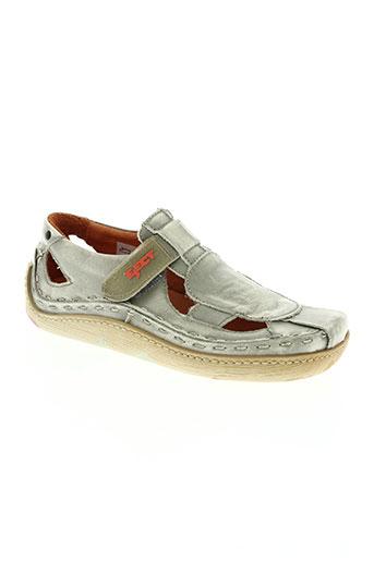 eject chaussures garçon de couleur gris