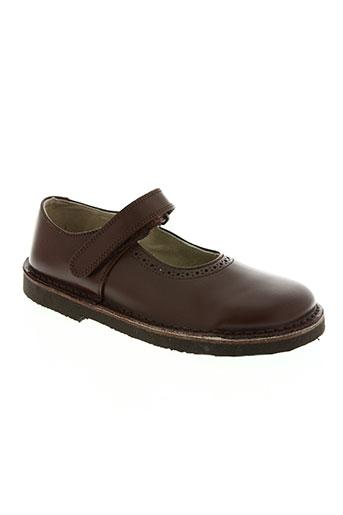 start rite shoes chaussures fille de couleur marron