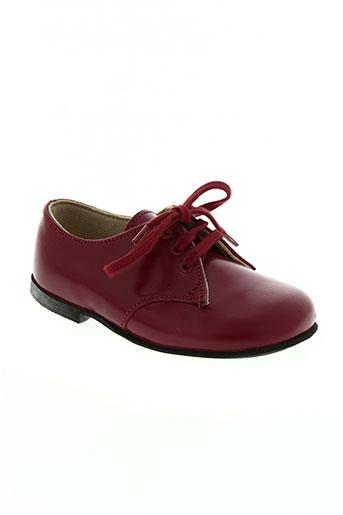 start rite shoes chaussures garçon de couleur rouge