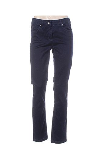 Pantalon casual bleu BX pour femme