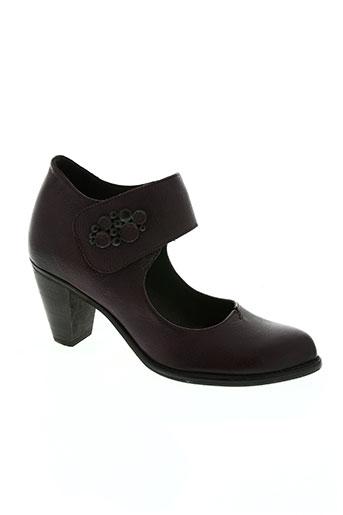 corine chaussures femme de couleur violet