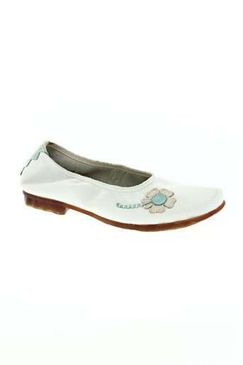arcus chaussures femme de couleur blanc